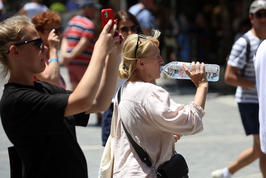 Ημέρες καύσωνα στο Ηράκλειο
