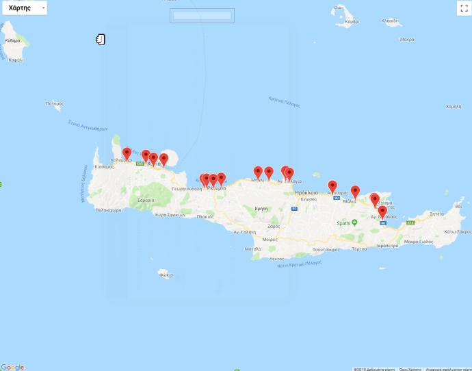 Mapa wypadków na BOAK