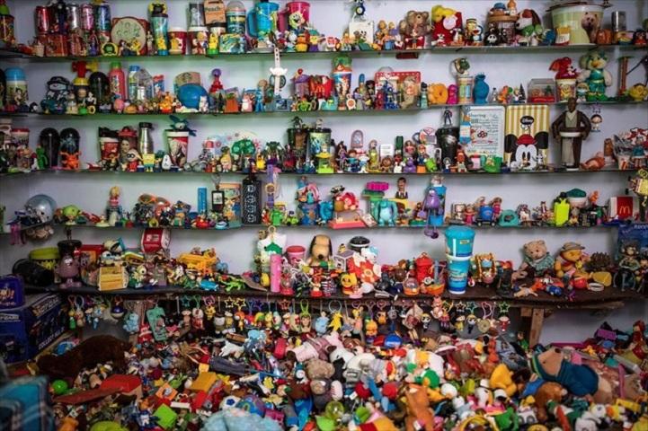 Μερικά από τα παιχνίδια της συλλογής
