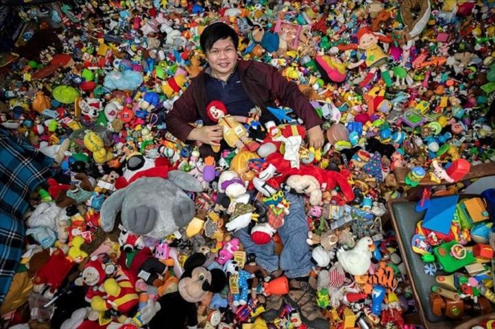 Το όνειρό του είναι να ανοίξει ένα μουσείο με τα παιχνίδια του