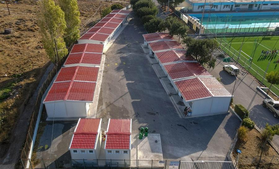 Το... νέο σχολείο από ψηλά