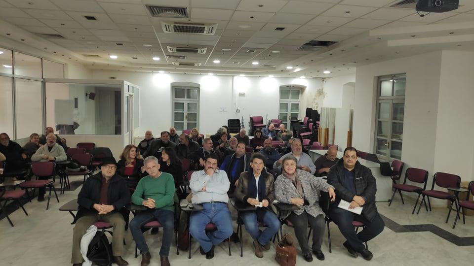 Η Γενική Συνέλευση των Ενεργών Πολιτών πραγματοποιήθηκε στα γραφεία του ΤΕΕ/ΤΑΚ