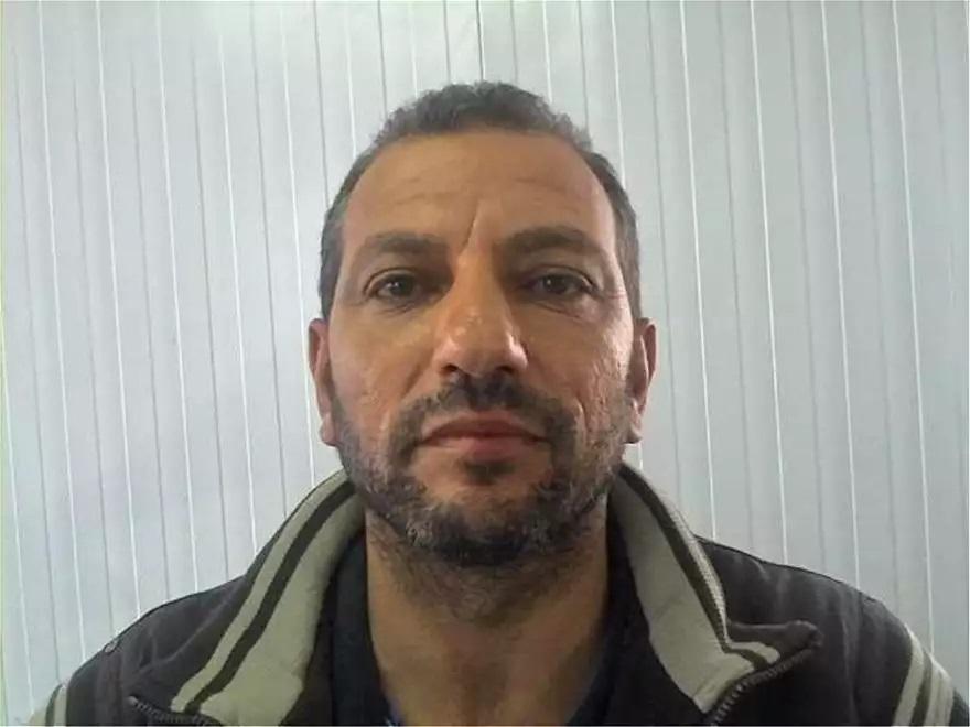Ο 46χρονο HOURAN YOUSEF του AHMAD και της KHADOUJ, που συνελήφθη το Σάββατο στην Ολλανδία