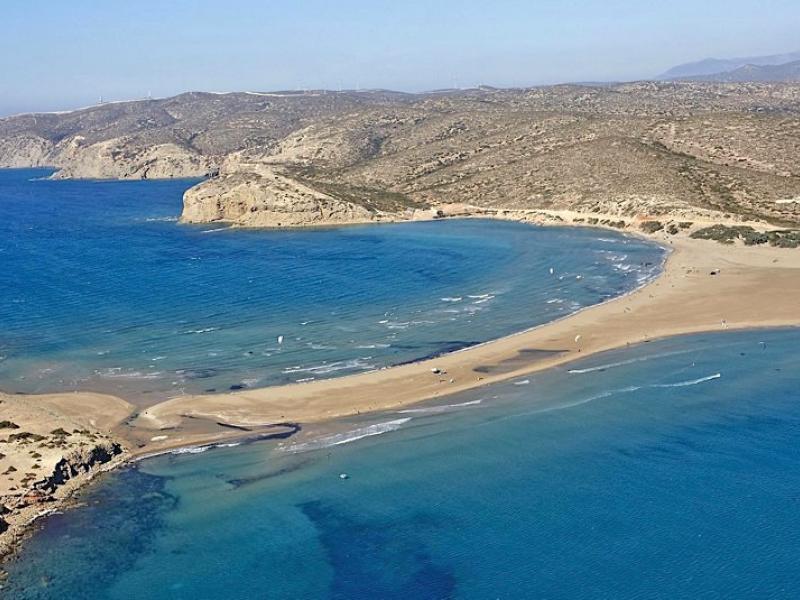 Το Πρασονήσι βρίσκεται στο νοτιότερο άκρο της Ρόδου και θεωρείται από τις πιο εντυπωσιακές παραλίες.