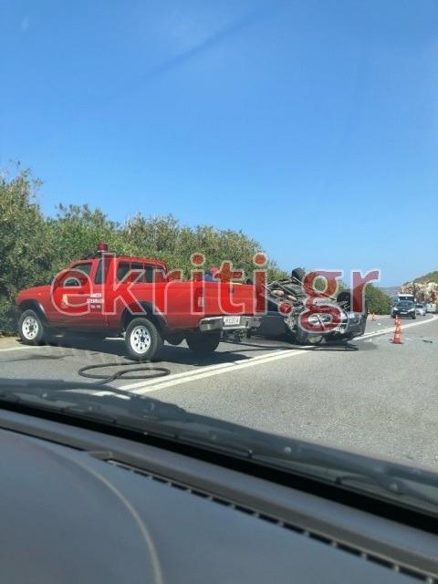 Επί τόπου τροχαία, πυροσβετικά οχήματα και ΕΚΑΒ