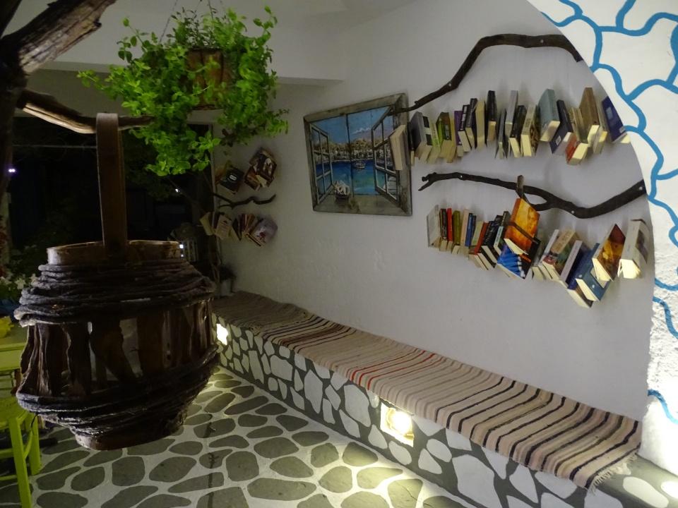 Μοναδικές βιβλιοθήκες στην Κίμωλο