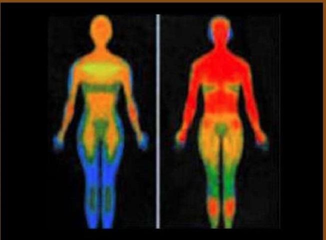 Η εικόνα  απεικονίζει σε μπλε χρώμα την δύναμη της ζωής του ατόμου που εγκαταλείπει το σώμα σταδιακά.